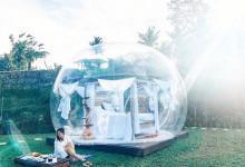 Vé máy bay đi Đà Lạt check in khách sạn bong bóng