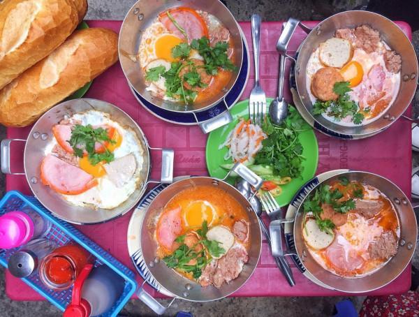 Bánh mì chảo Sài Gòn