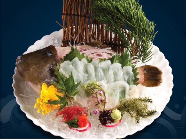 Kawahagi Sashimi