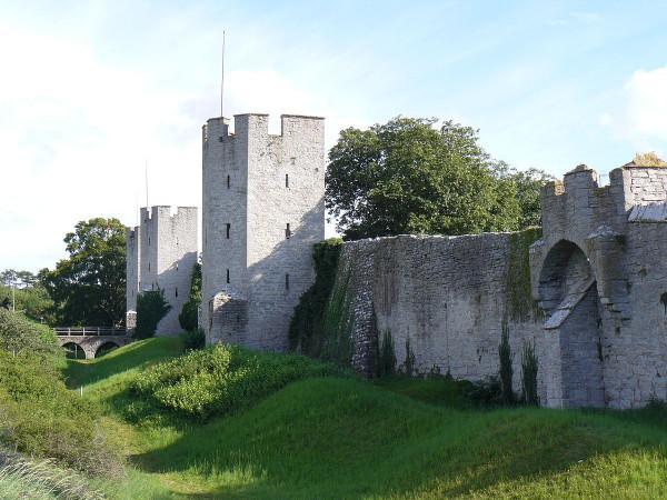 Thành cổ Visby1