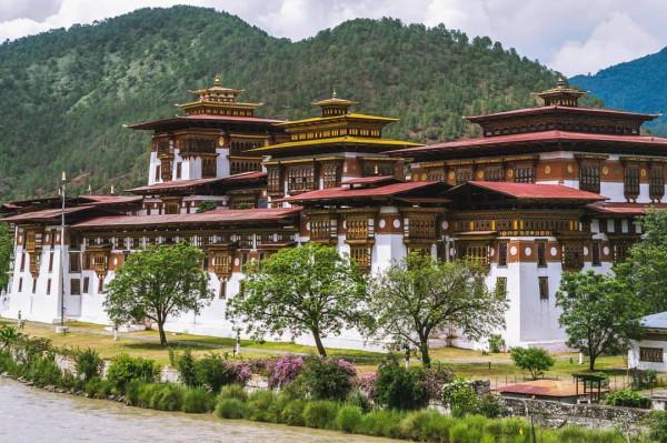 Pháo đài Punakha1