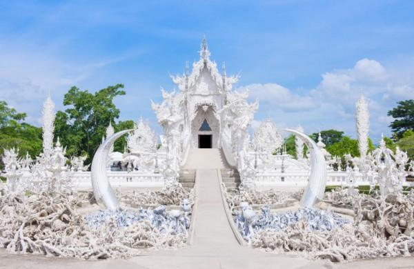 Đền Trắng (Wat Rong Khun)