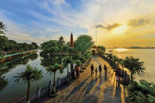 Vé máy bay khám phá địa điểm cầu an mới toanh ở Hà Nội