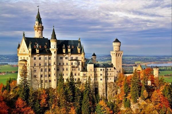 Lâu đài Neuschwanstein1