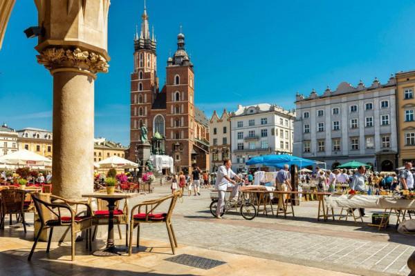 Thành cổ ở Krakow
