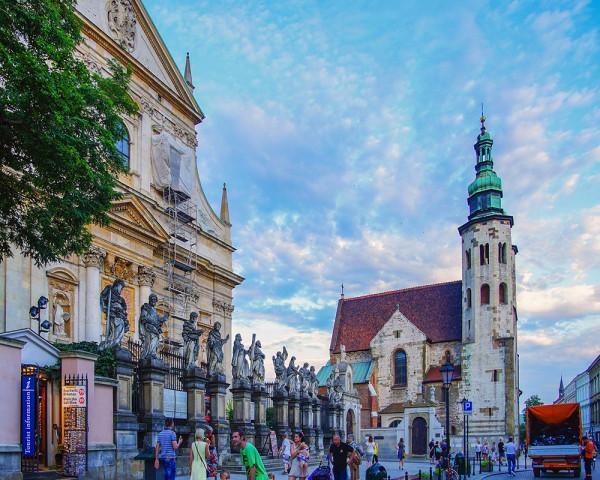 Thành cổ ở Krakow1