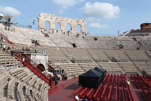 Đấu trường La Mã Nimes Arena1