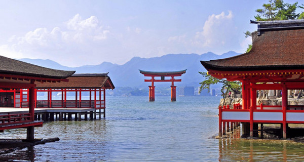 Đền Itsukushima, Miyajima1