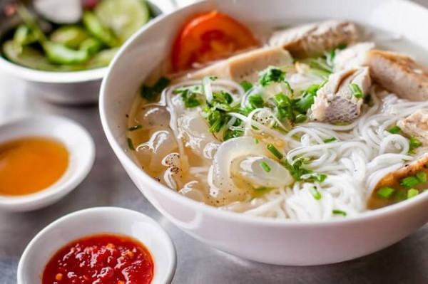 Bún chả cá Nha Trang nổi tiếng