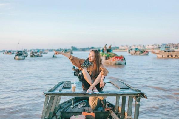 Vé máy bay giá rẻ cùng bạn du lịch Tiền Giang