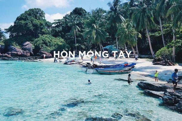 Hòn Móng Tay ở Phú Quốc