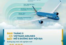VnAirline mở đồng loạt chuyến bay nội địa giá chỉ từ 99k