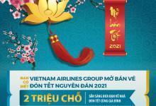 VietnamAirlines và Pacific Airlines mở bán vé Tết 2021