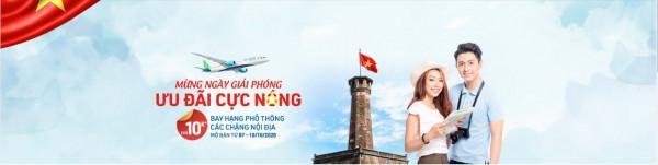 Mừng ngày giải phóng Bamboo airways mở bán giá vé chỉ từ 10k
