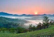 Ngất ngây trước cao nguyên xanh mát tỉnh Lâm Đồng