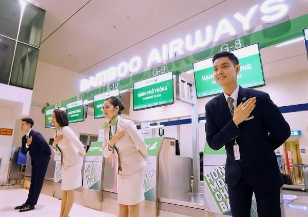 Hướng dẫn làm thủ tục check in vé máy bay Bamboo Airways