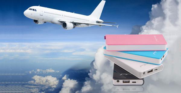 Sạc dự phòng có được phép mang lên máy bay hay không?