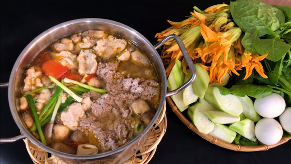Săn vé máy bay oanh tạc ẩm thực siêu ngon bổ rẻ ở Vĩnh Long