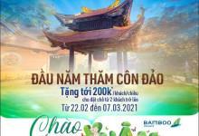Đầu năm thăm Côn Đảo với Siêu Giảm Giá từ Bamboo Airways