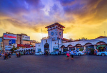 Tham quan những ngôi chợ nổi tiếng ở Sài Gòn